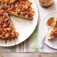 dessert aux pommes sans cuisson gâteau au fromage pomme caramel ricardo