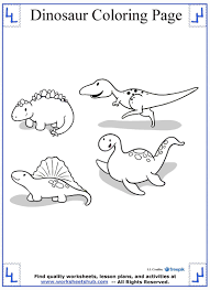 Dinosaur Coloring Pages 12