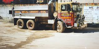 Photograph Of Kenworth Truck At Pymble Yard - MAAS Collection