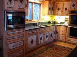 Rustic Style Kitchen Cabinets