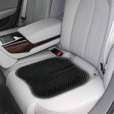 100 Car Seat In Truck Non Slip Chair Pad Silica Gel Cushion For Office Home 165 Inch Black