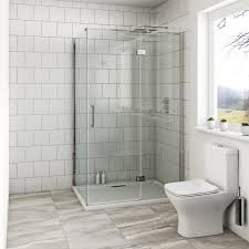 Mode Austin Premium 8mm Hinged Easy Clean Rectangular Shower