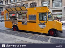 Wafles & Dinges, A Food Truck On Broadway In The Soho District Of ...