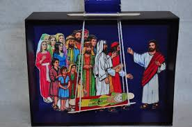 Release The Yarn From Stick So That After Jesus Heals Him Man Can Stand Up And Carry His Bed See Craft Tutorial Below