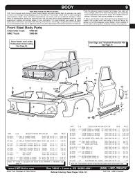100 66 Chevy Truck Parts 196019 GMC Pickup Specs EngineTransAxle IDs