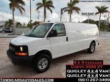 2008 Chevrolet Express 3500 Quigley 4x4 Van