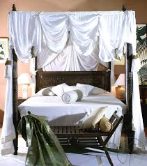 King Size Canopy Bed With Curtains by Lotus Canopy Bed Tansu Asian Furniture Boutique Tansu Net