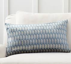 sabyasachi kolkata printed lumbar pillow cover pottery barn