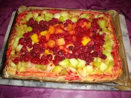 dessert aux fruits d ete recette tarte aux fruits d été ananas melon et framboises