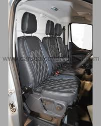 100 Custom Seat Covers For Trucks D Transit Van Tailored Charcoal Grey With