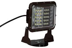 60 watt magnetic mounted led wall pack light with glare shield