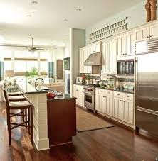 e Wall Kitchen Designs With An Island Galley Kitchen With Island