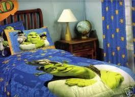 shrek the third 3 dreamworks twin comforter set bedding orly s dream