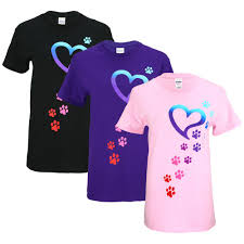 Dog Paw Print Pumpkin Stencils by Rainbow Paws To My Heart T Shirt The Animal Rescue Site