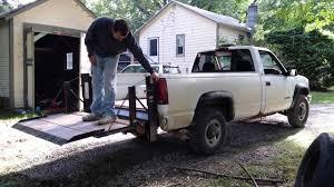 100 Truck Lift Gate Andrews Truck Lift Gate YouTube