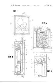 Recessed Fire Extinguisher Cabinet Detail by Patent Us4018242 Fire Hose Cabinet Google Patents