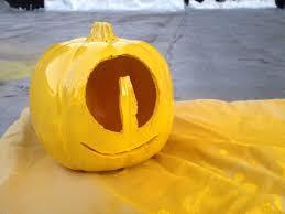 Minion Carved Pumpkins by Minion Pumpkins Halloween Diy