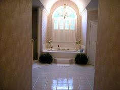 Chandelier Over Bathtub Soaking Tub by Bathroom Floor Space Impressive Floor Space Is Seen In This