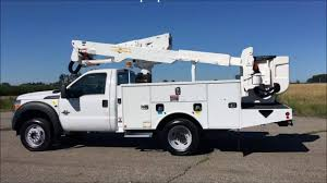 100 Altec Boom Truck Ford F550 Super Duty AT37G Bucket Lift For Sale YouTube