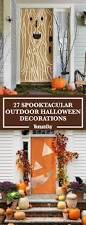 Halloween Witch Yard Stakes by 30 Scary Outdoor Halloween Decorations Best Yard And Porch
