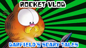 Garfields Halloween Adventure Book by Rocket Vlog Reviews Garfield U0027s Scary Tales Youtube