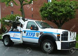 100 New Tow Trucks BROOKLYN NY MAY 19 NYPD Truck In Brooklyn NY On May 19