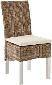 möbelando esszimmerstuhl küchenstuhl hochlehner rattanstuhl