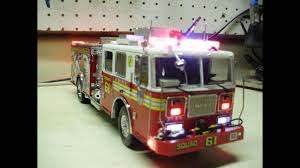 Custom 1:32 Code 3 Seagrave FDNY Squad 61 Pumper Fire Truck W ... Flashing Emergency Lights Of Fire Trucks Illuminate Street West A New Look Mlivecom The Blur A Truck All Decorated With Christmas In Firetruck At Scene Night Hi Res 39910081 Two Traffic Siren And Flashing To Ats Fire Trucks Running Lights Sirens Night Youtube Truck On Video Clip 74065002 Pond5 Firetruck Awesome Looping Footage 9930648 Engine Horn