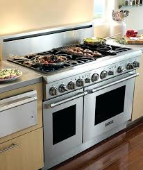 48 Inch Gas Cooktop Reviews Wolf 48 Inch Range Top Price Gas Ranges With Griddles 48