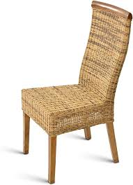 sam rattan stuhl holzstuhl gebeizt buchefarbig beine aus pinie esszimmerstuhl schlichtes design