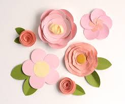 Finest How To Make Easy Paper Flower With Craft Flowers Step By