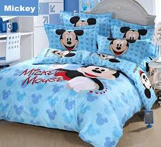hello mickey mouse cotton full queen size bedding boys and girls