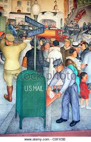 Coit Tower Murals Images by Coit Tower Mural Stock Photos U0026 Coit Tower Mural Stock Images Alamy