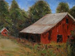 """Bob Baker, """"Barn, Waupaca County, Wisconsin"""" 