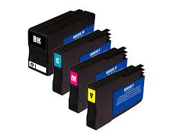 ficeJet Pro 8100 Ink Cartridges 4 Color Pack patible High yield