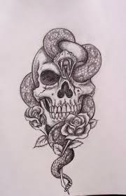 A Simple Pirate Skull Tattoo Design On Bicep