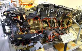 File:1955 Pratt & Whitney R-4360-CB2 Aircraft Engine - Hiller ...