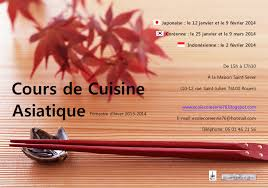 cours cuisine asiatique ecole coréenne de rouen cours de cuisine asiatique