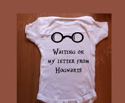 Im Waiting For My Hogwarts Letter Baby Bodysuit Baby Vest