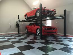 Racedeck Flooring Vs Epoxy by Cool Garage Floor Tiles Racedeck Flooring Cost Your Home List