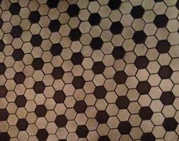 install hexagon floor tile creative home decoration