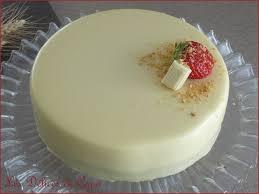 entremets chocolat blanc insert fraise les délices de capu