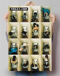 poster toilet things do on the toilet