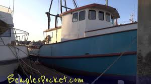 100 Houseboat Project Ship Commercial Fishing Boat Vessel For Sale Video HouseBoat