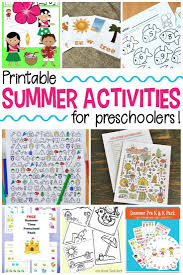 Welcome Summer With These Printable Activities For Kids From Coloring Pages And Scavenger Hunts