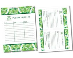 INSTANT DOWNLOAD Arbonne Party Items Sign In Lets Chat Sheets Reusable
