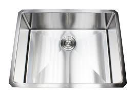 Karran Edge Undermount Sinks by 26 Inch 16 Gauge Undermount Single Bowl Stainless Steel Sink 15mm