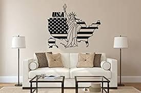 wandtattoo amerika usa nr 3 freiheitsstatue america flagge