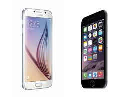 Which smartphone Samsung Galaxy S6 vs Apple iPhone 6