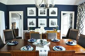 Blue Dining Room Walls After Navy Ideas